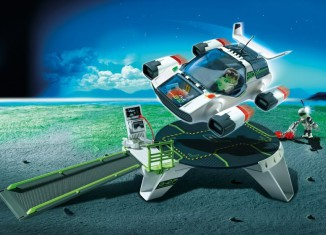 Playmobil - 5150 - E-Rangers Turbojet with Startstation