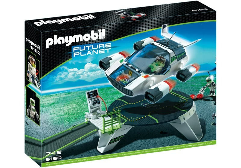 Playmobil 5150 - E-Rangers Turbojet with Startstation - Box