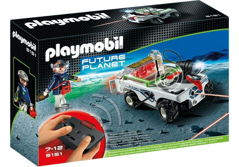 Playmobil 5151 - Explorer with Laser Cannon - Box