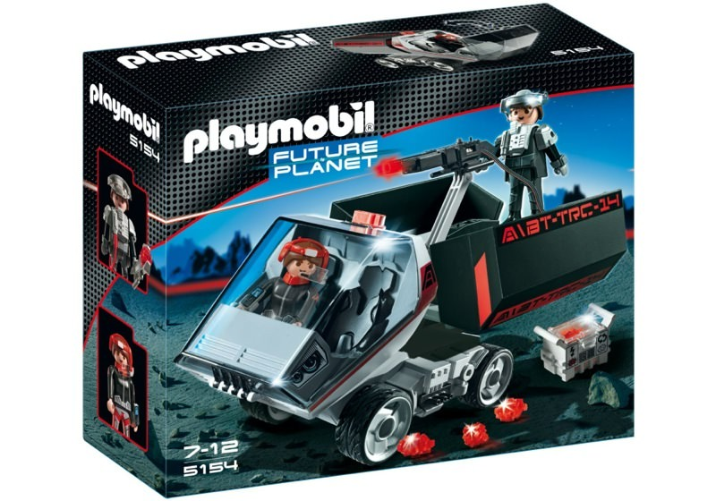 Playmobil 5154 - Darksters Truck with Laser Cannon - Box