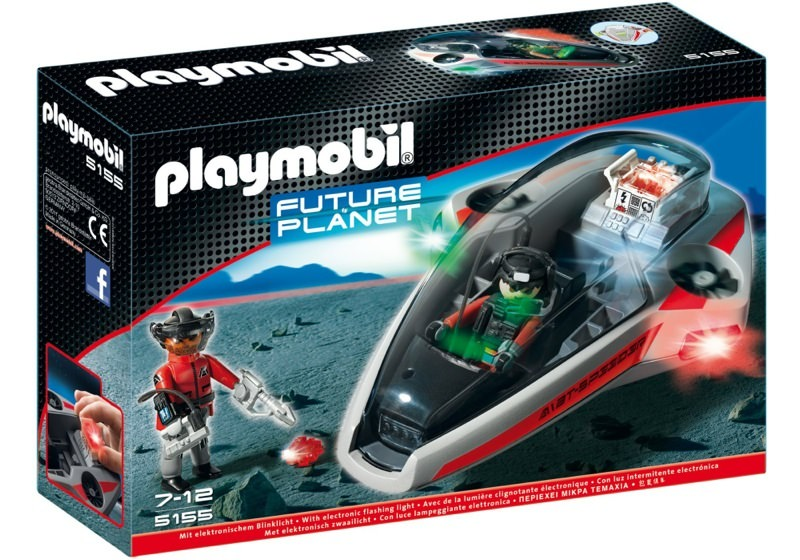Playmobil 5155 - Dark Rangers` Speed Glider - Box