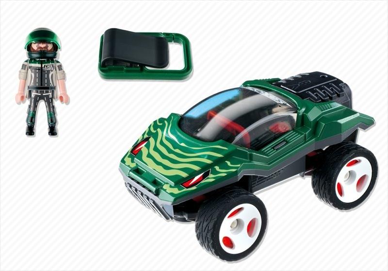 Playmobil 5160 - Click & Go Snake Racer - Back