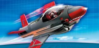 Playmobil - 5162 - Click & Go Shark Jet