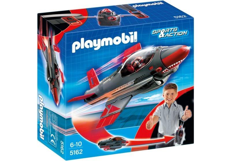 Playmobil 5162 - Click & Go Shark Jet - Box
