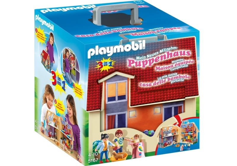 Playmobil 5167 - Take Along Modern Doll House - Box