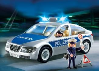 Playmobil - 5179 - Polizeifahrzeug mit Blinklicht