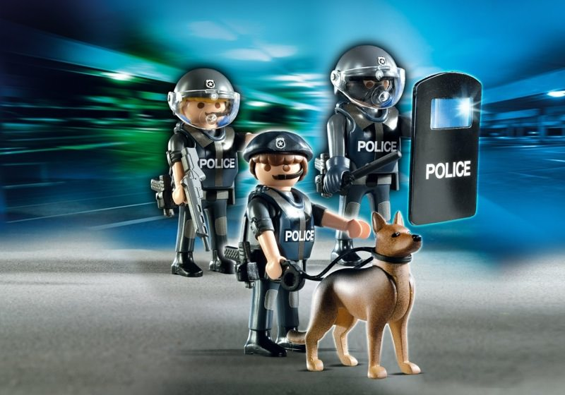 Beste Playmobil Set: 5186 - Special Squad with Dog - Klickypedia GS-22