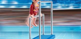 Playmobil - 5191 - Gymnast on Asymetric Bars