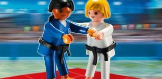 Playmobil - 5194 - 2 Judo Competitors