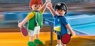Playmobil - 5197 - 2 Table Tennis Players