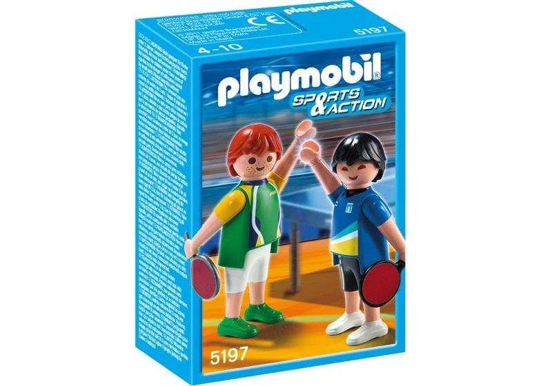 in Box 5197 Playmobil Tischtennisspieler