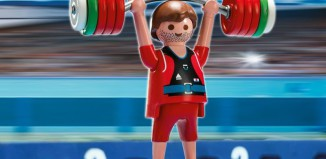 Playmobil - 5199 - Weightlifter
