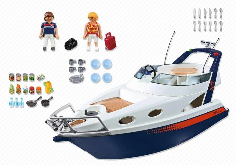 Playmobil 5205 - Luxusyacht - Back
