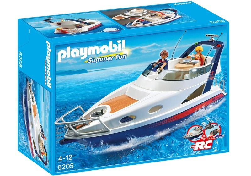 Playmobil 5205 - Luxusyacht - Box