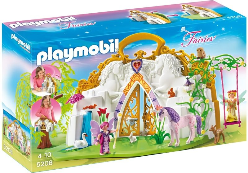 Playmobil 5208 - Take-Along Unicorn Fairy Land - Box