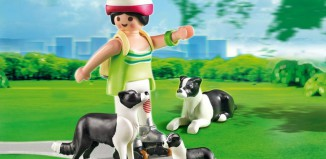 Playmobil - 5213 - Border Collies with Puppy
