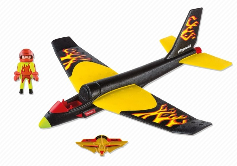 Playmobil 5215 - Fire Flyer - Back