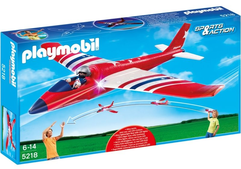 Playmobil 5218 - Red Star Flyer - Box