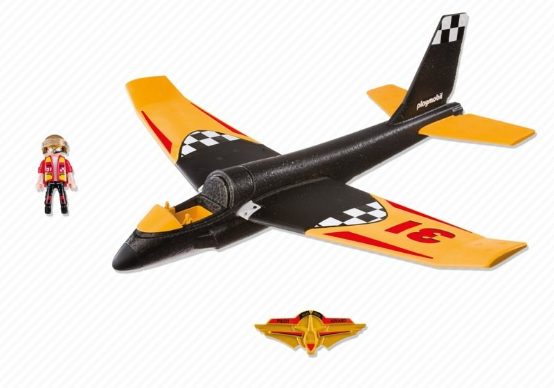Playmobil 5219 - Race Glider - Back