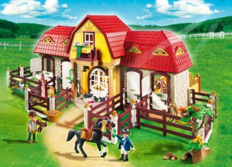 Playmobil - 5221 - Large Horse Farm with Paddock