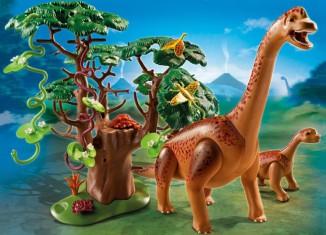Playmobil - 5231 - Brachiosaurus with Baby