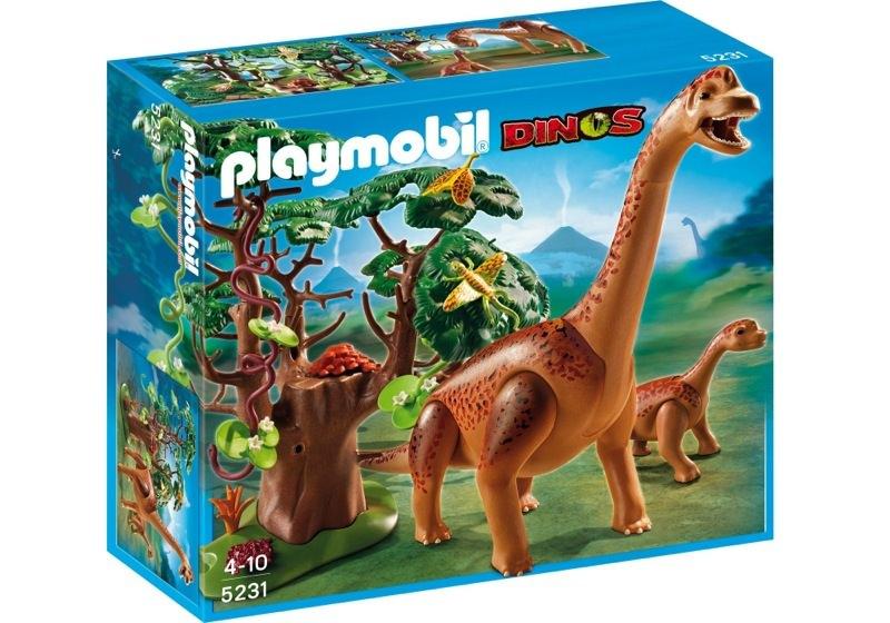 Playmobil 5231 - Brachiosaurus with Baby - Box