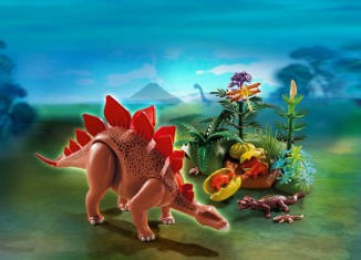 Playmobil - 5232 - Estegosaurio y su nido