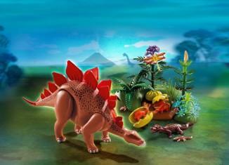 Playmobil - 5232 - Stegosaurus mit Nest
