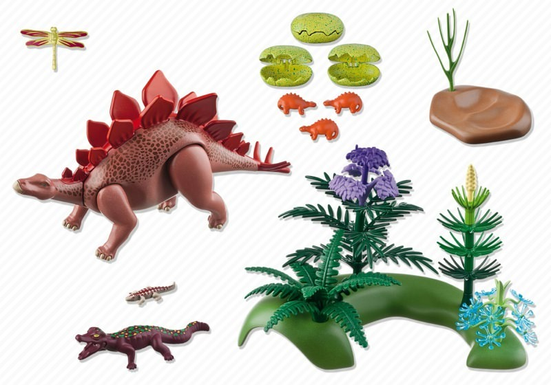Playmobil 5232 - Stegosaurus - Back