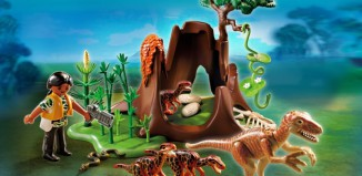 Playmobil - 5233 - Deinonychus and Velociraptors