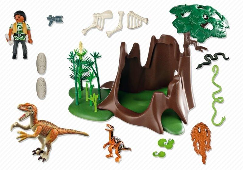 Playmobil 5233 - Deinonychus and Velociraptors - Précédent