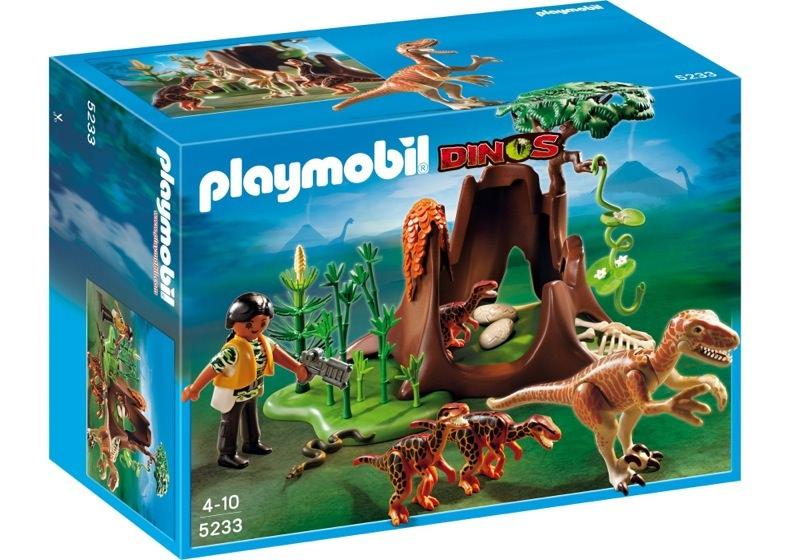 Playmobil 5233 - Deinonychus and Velociraptors - Boîte