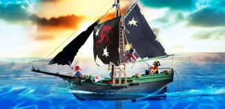 Playmobil - 5238 - Pirates Ship with RC Underwater Motor