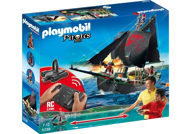 Playmobil 5238 - Pirates Ship with RC Underwater Motor - Box