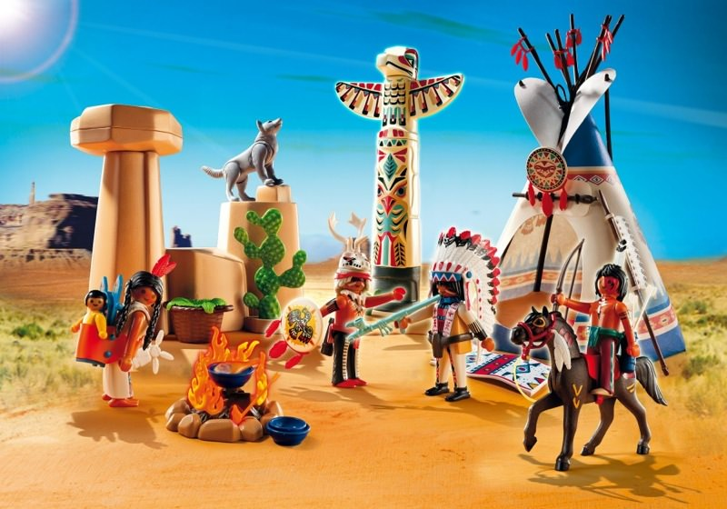 Image result for native american playmobil