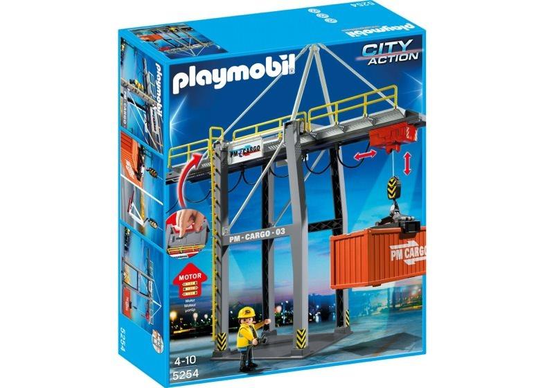 Playmobil 5254 - Loading Terminal - Box