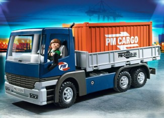 Playmobil - 5255 - Cargo Truck with Container