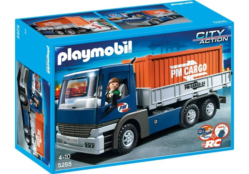 Playmobil 5255 - Cargo Truck with Container - Box