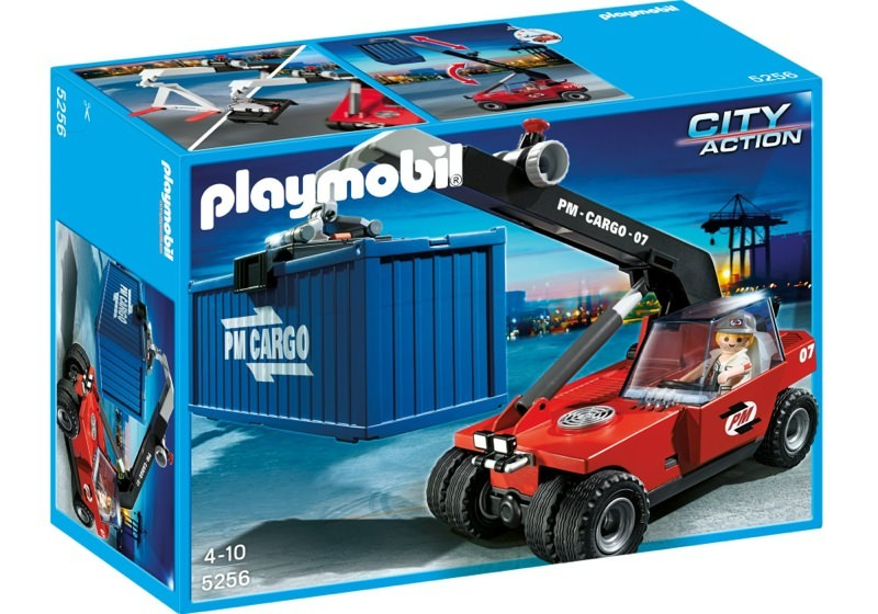 Playmobil 5256 - Cargo Transporter with Container - Box