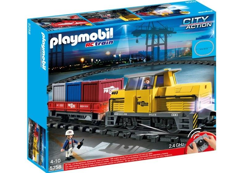 Playmobil 5258 - RC Freight Train - Box