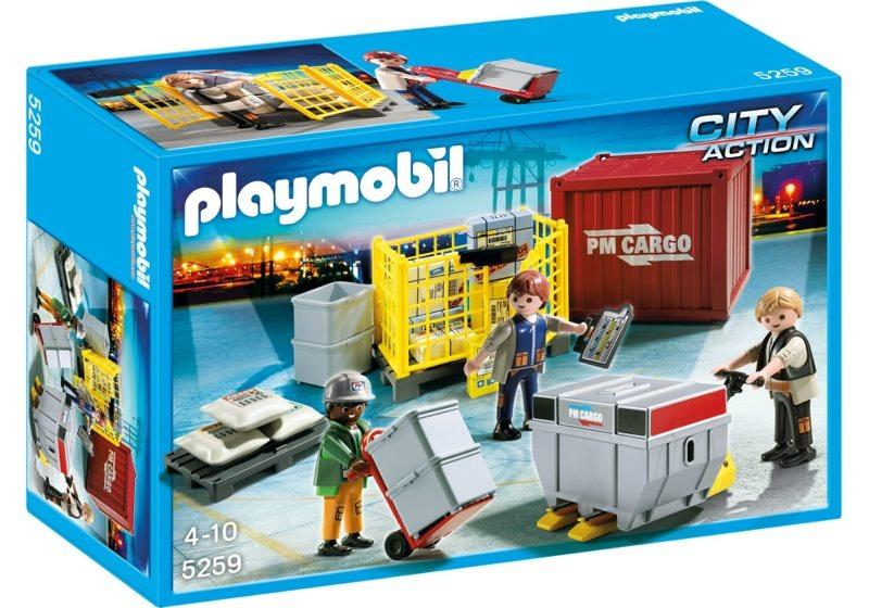 Playmobil 5259 - Cargo Loading Team - Box