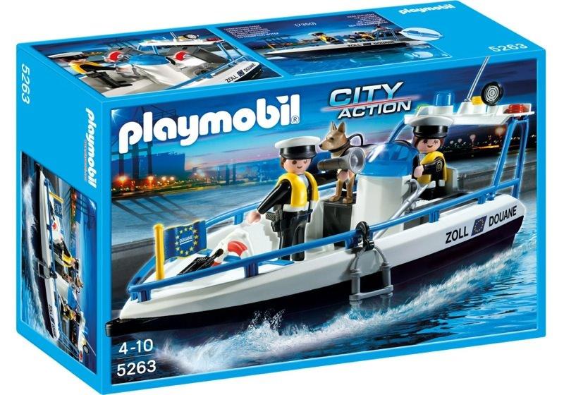 Playmobil 5263 - Customs - Box