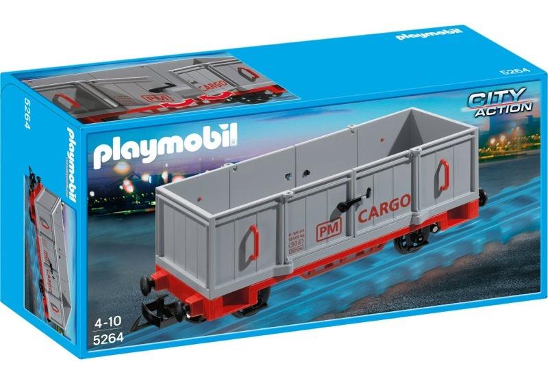 Playmobil 5264 - Open Freight Car - Box