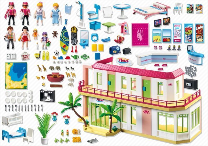Playmobil 5265 - Hotel - Back