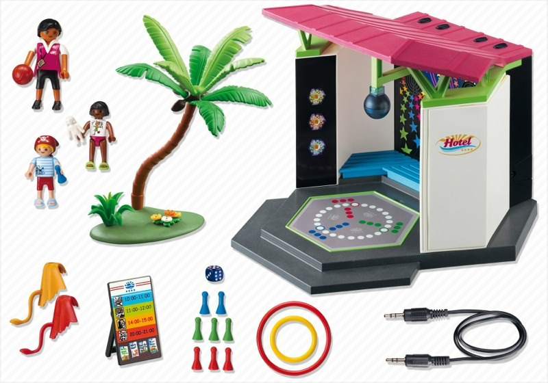 Playmobil 5266 - Children`s Club with Disco - Back