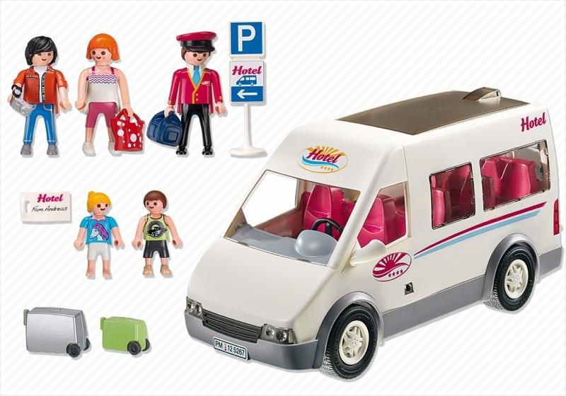 Playmobil 5267 - Hotel Shuttle Bus - Back