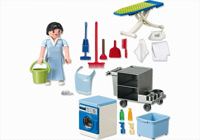 Playmobil 5271 - Housekeeping Service - Back
