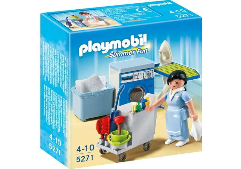 Playmobil 5271 - Housekeeping Service - Box