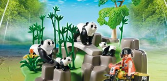 Playmobil - 5272 - WWF-Panda Researcher in the Bamboo Forest