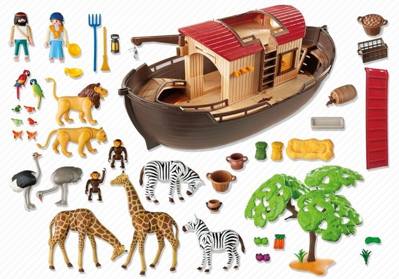 Playmobil 5276 - Noah's Ark - Back